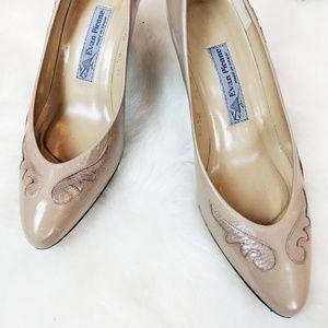 Vintage Heels • Evan Picone • Made in Spain
